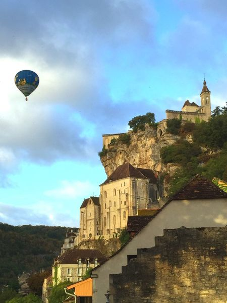 My Favorite Place A poetic and charming place in France ! Fortified Wall Architecture France Hot Air Balloon