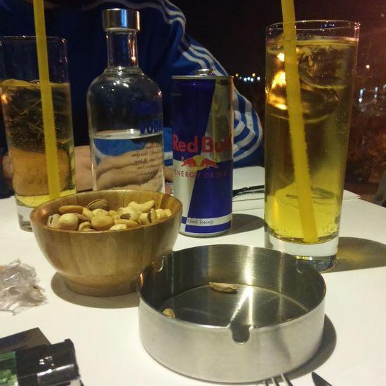 Vodkaredbull LastNight :) That's Me Enjoying Life