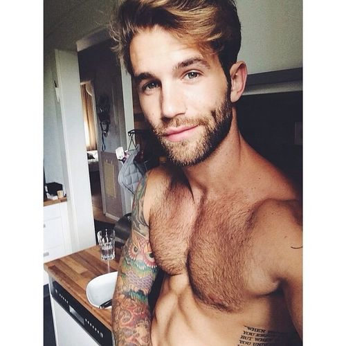 Hello beautiful people... Have a good day guys :) Tattoo Man With Tattoo André Hamann