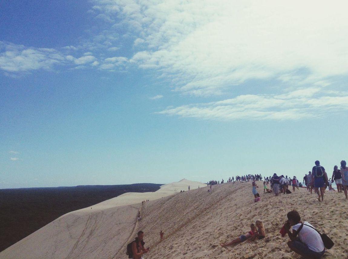 Hanging Out Dunedupilat Climbing Dunes