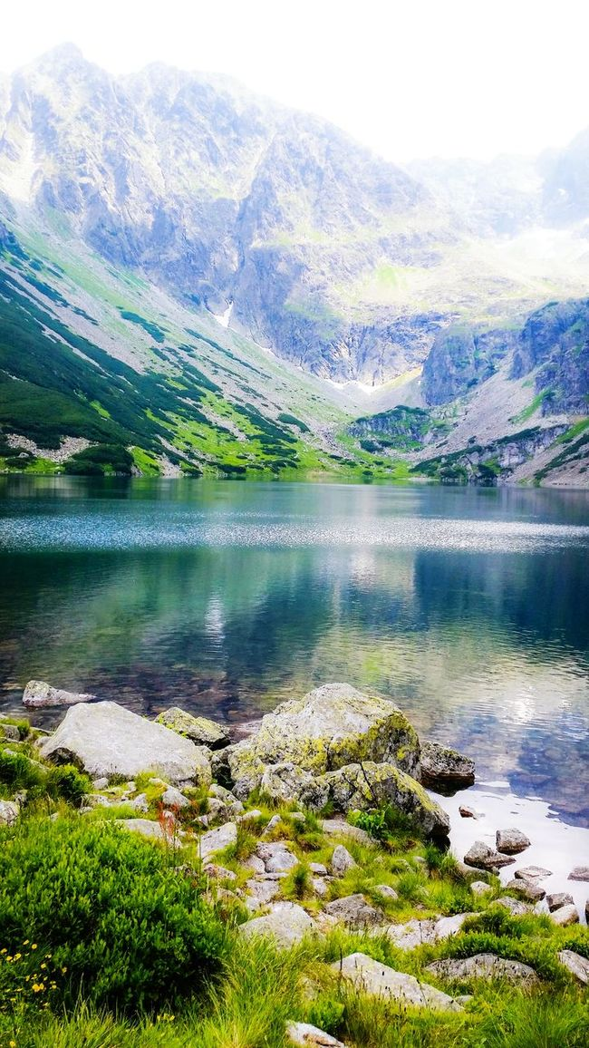 Just can't get enough of the Tatra mountains ❤ Mountains Lake Nature EyeEm Nature Lover Tatry Tatry Poland Tatra Mountains The Art Of Nature Amazing Poland EyeEm Poland Poland EyeEm Best Shots - Nature Landscape_photography Landscape_Collection EyeEm Landscape