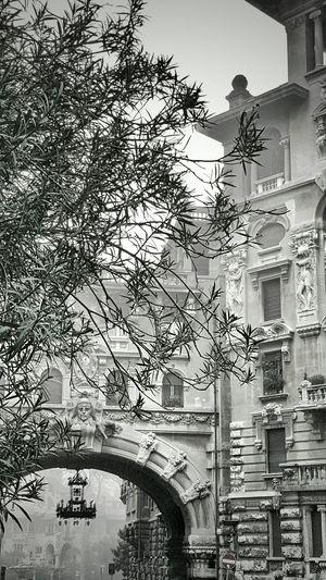 Quartierecoppedè Coppedè Parioli Roma Blackandwhite Black And White Black&white Photography Photo by Danieledonofrio