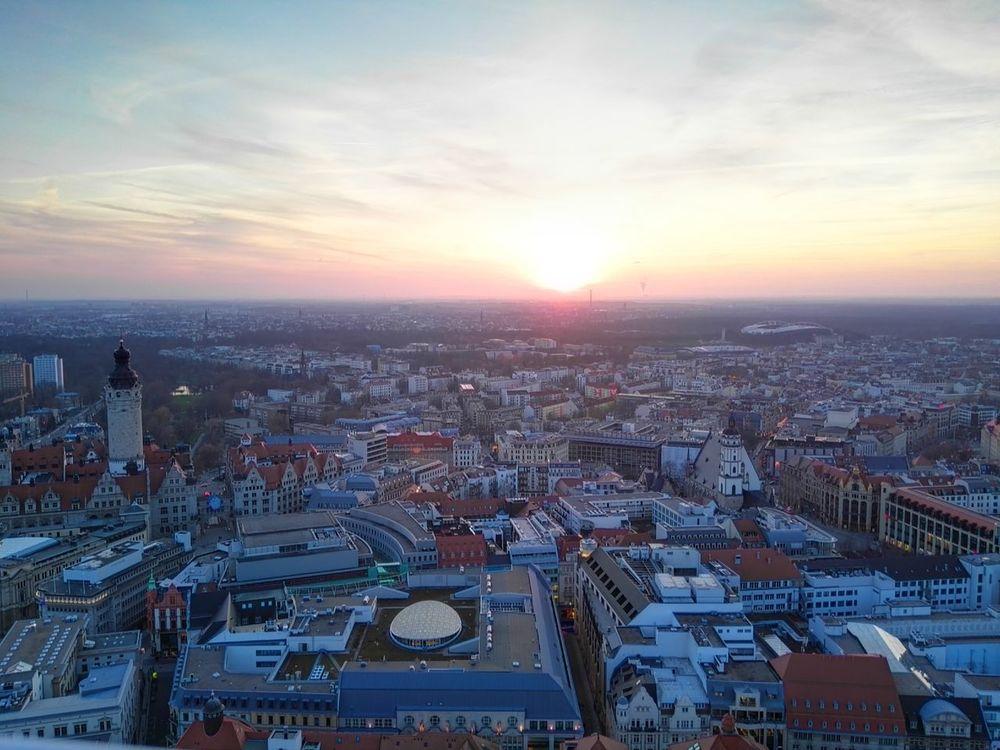 Nice View Lieblingsstadt Cityview Oben