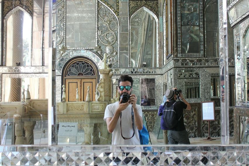 Me in Golestan Palace, Tehran, Iran. Traveling Vacations Tourism Architecture One Person Beautiful Places Travel Destinations Persia Palaces Palace