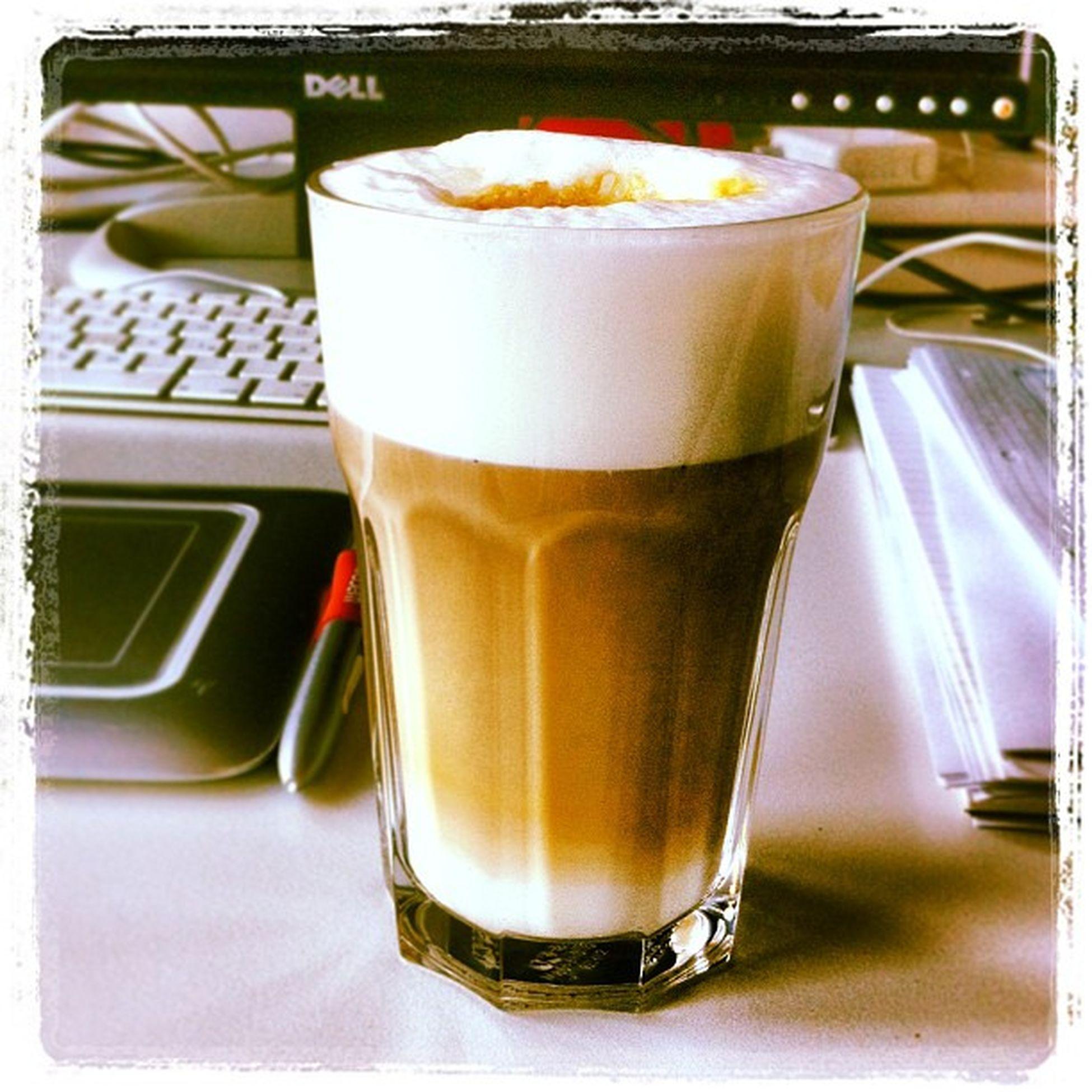 Best coffee in an agency so far... Coffee Sinnerschrader Agency Lattemacchiato