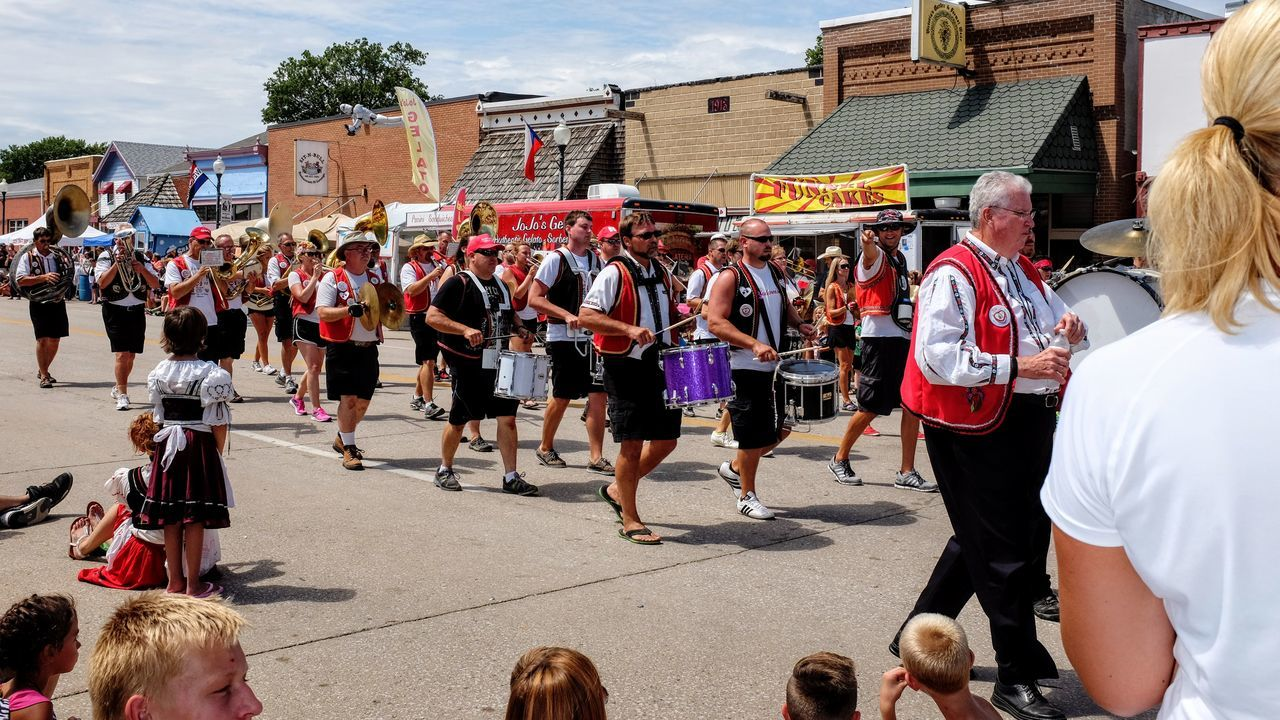55th Annual National Czech Festival August 5, 2016 Wilber, Nebraska Americans Camera Work Celebration Color Photography Community Czech Days Czech Festival EyeEm Gallery Fujifilm_xseries Life In Color Lifestyles Marching Band Midday Sunlight MidWest Nebraska Parade Parade Time Peoples Photoessay Rural America Small Town America Small Town Stories Streetphotography Tradition Wilber, Nebraska