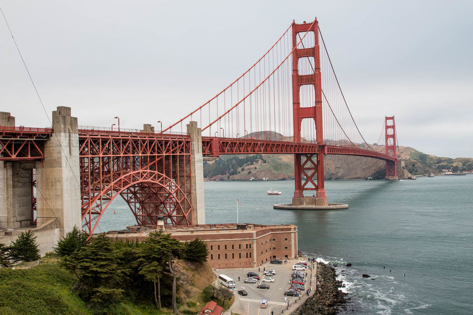 Beautiful stock photos of san francisco, Bay Of Water, Bridge - Man Made Structure, Built Structure, Connection
