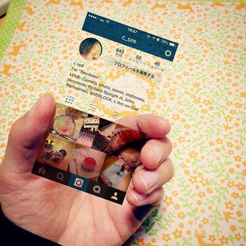 Photo Instagram InstagramInMyHand インスタインマイハンド インスタグラムインマイハンド