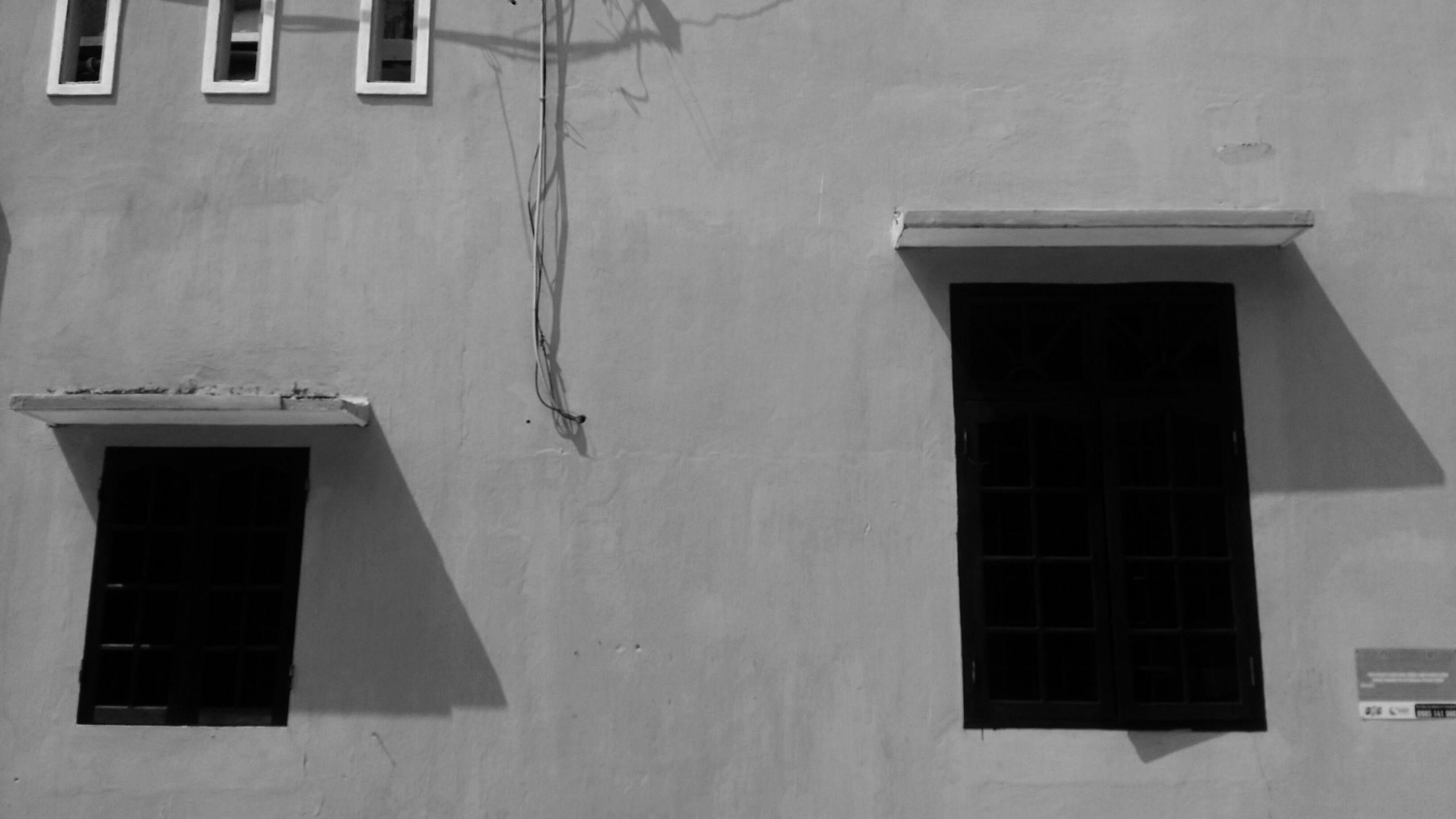 B&w Street Photography Vietnam Hoian  Wall&windows First Eyeem Photo