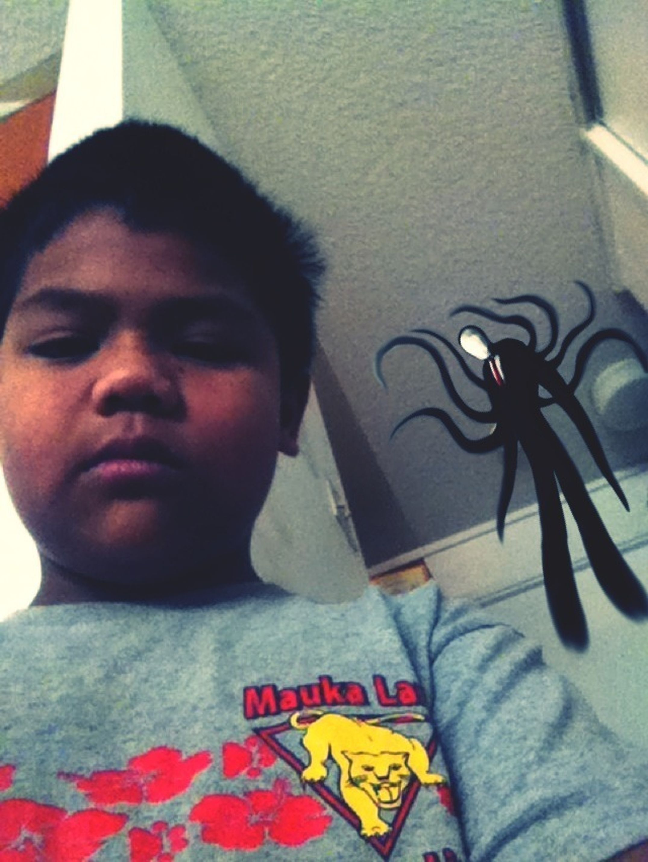 Slenderman Is With Me!!!!!!!!!! I Just Want To A Photo