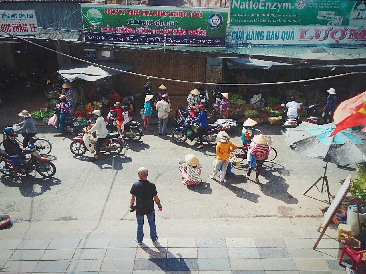 Can Tho street market Canthocity  Street Photography Vietnam Tourism Street Market Marketplace Streetmarket Southernvietnam People