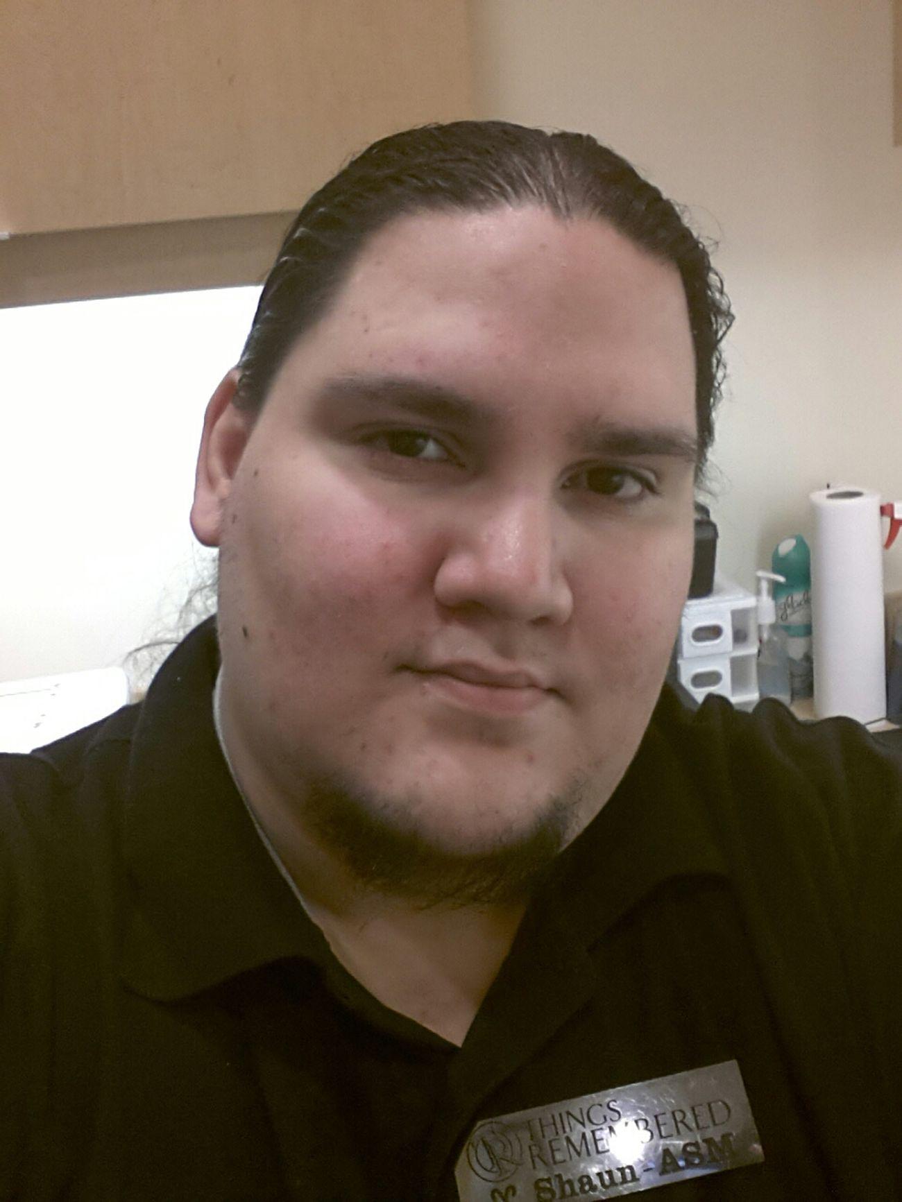 Here at work. Hi! Self Portrait At Work Workselfie
