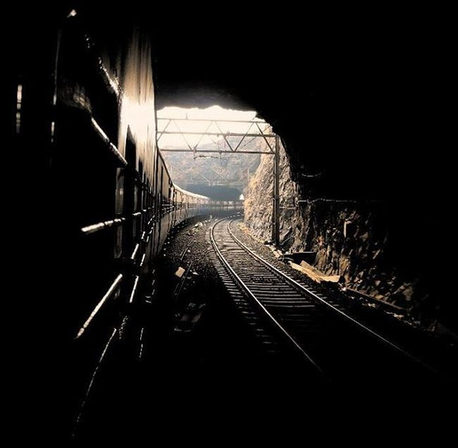 From many ups and downs... Mumbai_to_pune Mumbai Pune Train Tunnel Canon700D Canon Canonphotography The Great Outdoors - 2016 EyeEm Awards