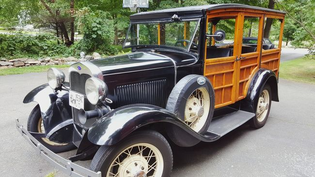 Vintage Cars Model A Ford Original Woody