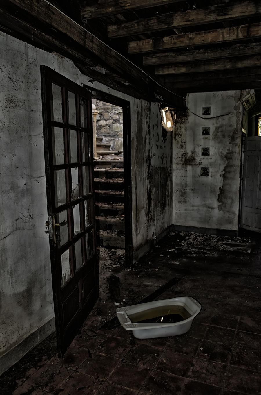 Abandoned Boiro Day Indoors  No People Pazo Goianes Prison