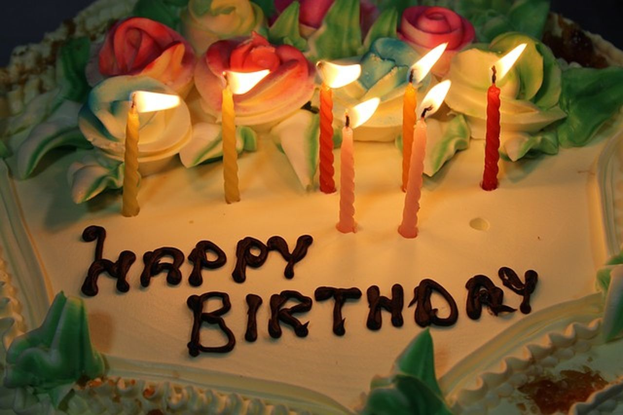 Cake Birthday Birthdayparty No People Celebrations Birthday Celebration! Candles.❤ Birthday Cake
