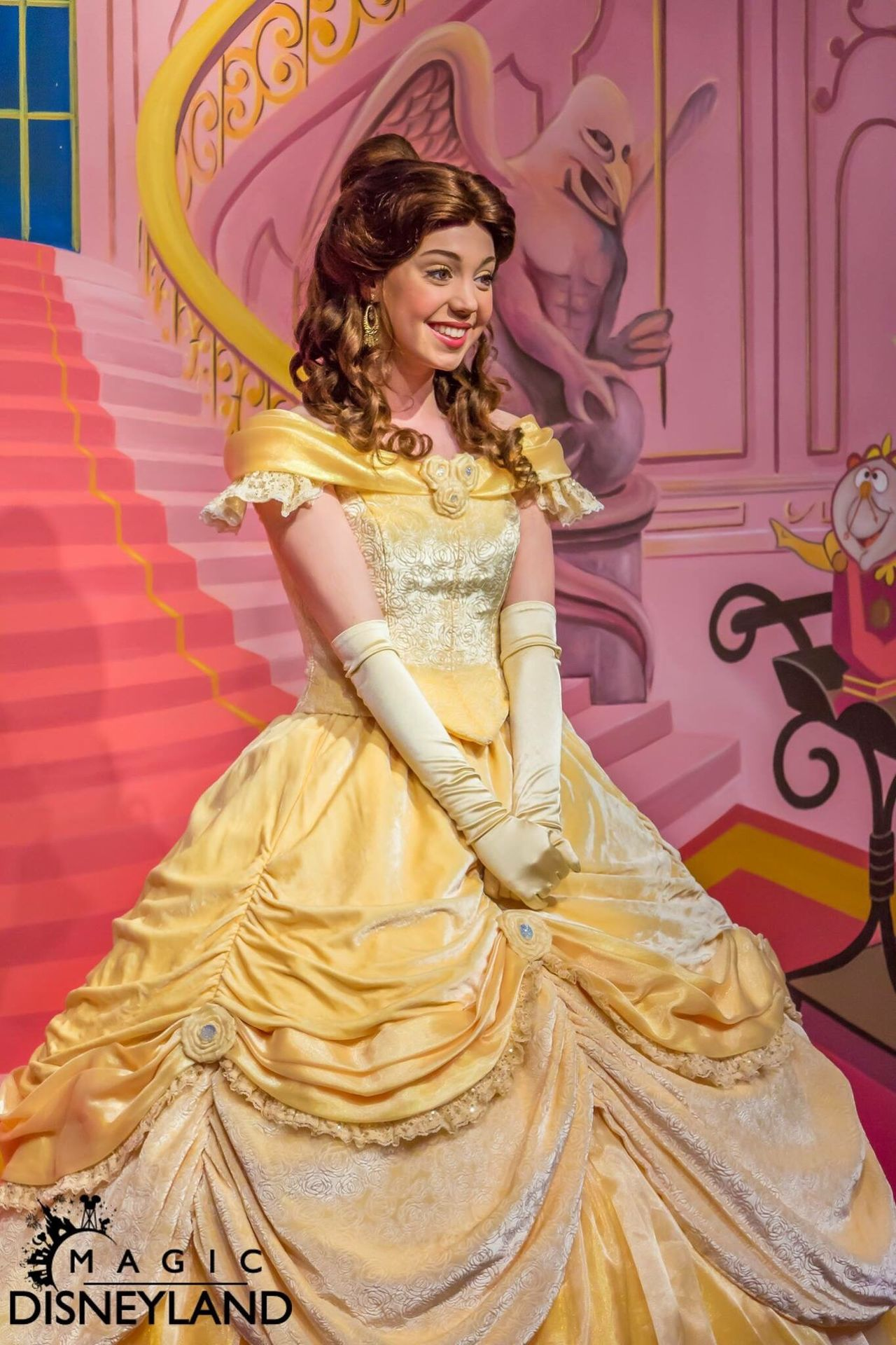One Person One Woman Only Beautiful Woman Curly Hair 25thanniversary Disneyland Paris Disneyland Disney Disneyland Resort Paris Amusement Park