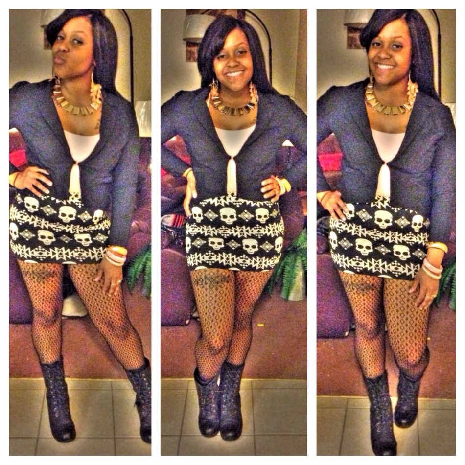 Cute Or Whateverr Stepping Out TurnUp