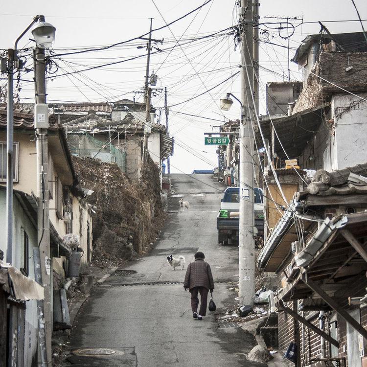 104 village, Seoul's last moon village Cityscapes
