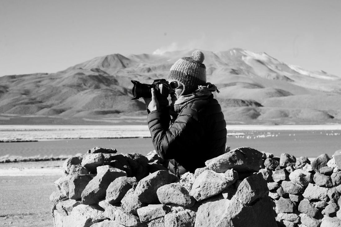 EyeEmNewHere Photography Themes Photographing One Person Outdoors People Photographer Nature Desert Andes Tarapaca Fotógrafos Chile Men Contrast