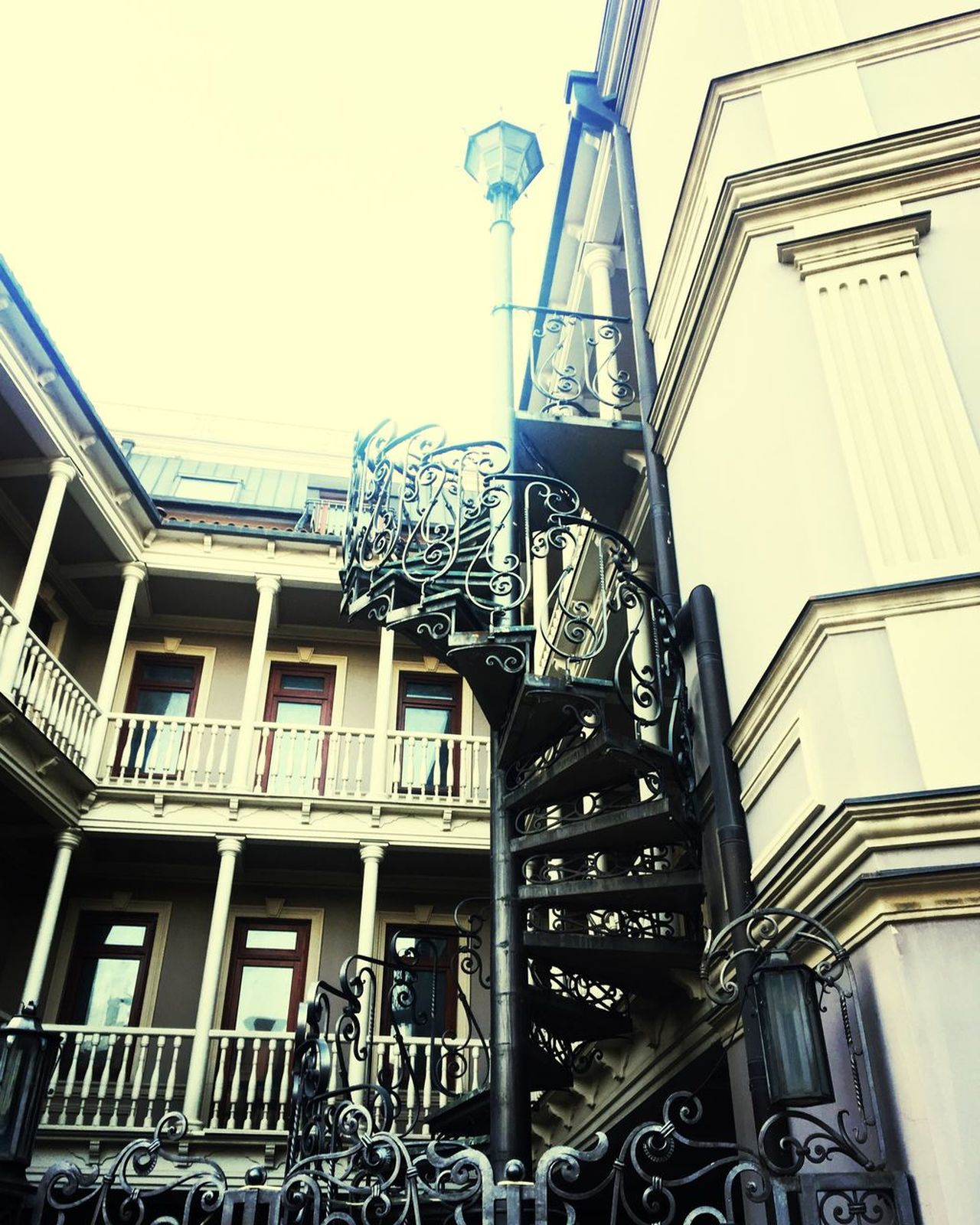 Georgian amazing architecture Architecture Building Exterior Steps And Staircases Staircase Tbilisi Georgia Gabriadze
