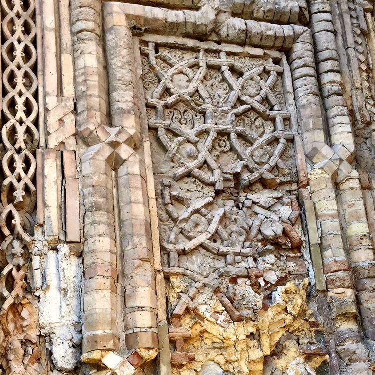 Silk Road IPS2016Texture Famous Place Culture Historic Textured  Uzbekistan International Landmark Architecture Ancient Civilization Historical Building History Through The Lens  Historical Place