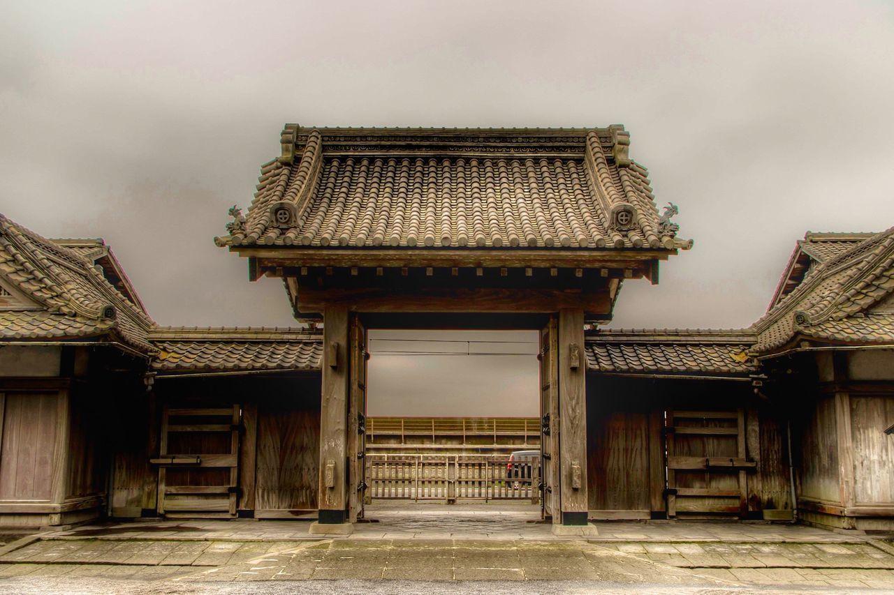 Entrance Gate Of Senganen Garden