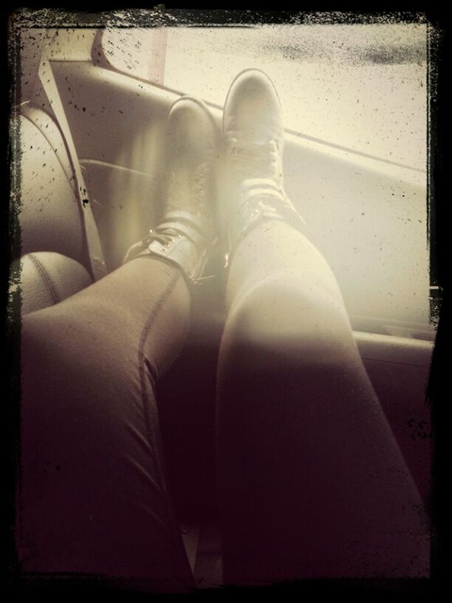 on my way to subway. Relaxing