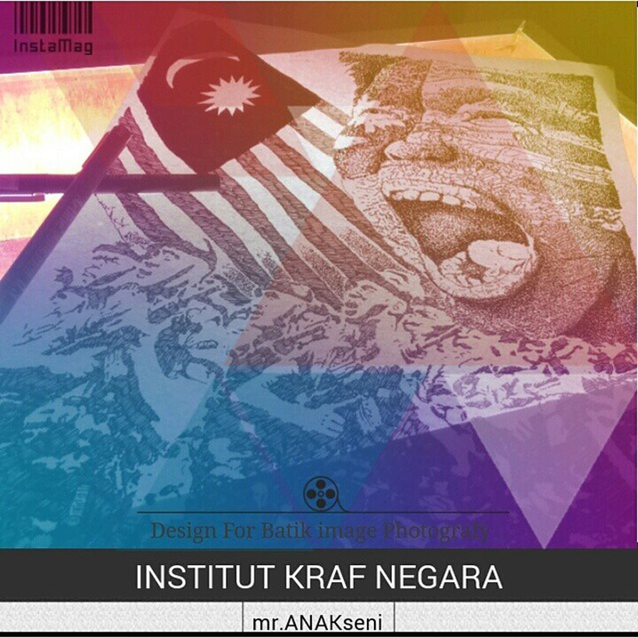 Design utk projek batik imej photografi esok.. InstitutKrafNegara Kraftanganmalaysia Imstudents InstaMagAndroid Kemerdekaan 31ogos2014