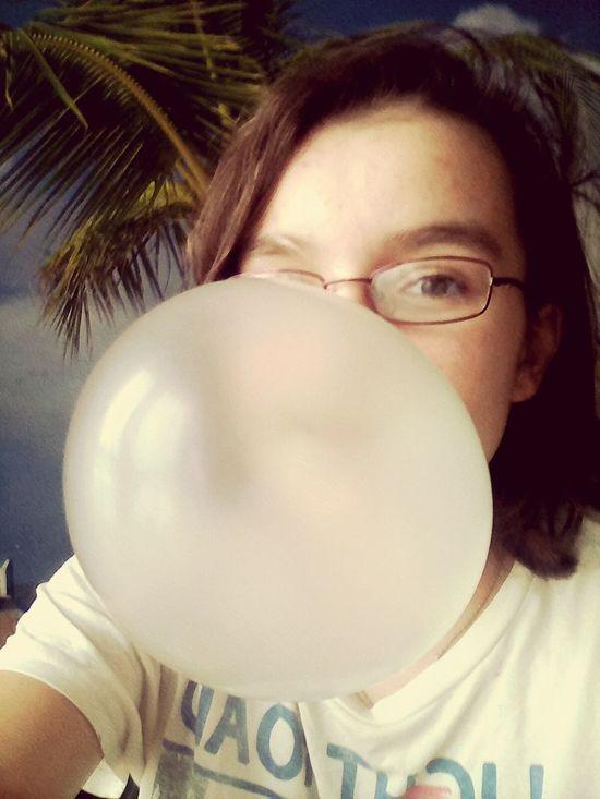 Bubblegum I Huge Bubble Funny Moments First Eyeem Photo