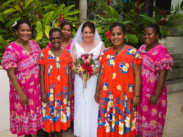 Wedding hideaway island port vila vanuatu Beach Hideaway Island Island Wedding Local Woman Pacific Ocean Port Vila Vanuatu Tropical Paradise Vanuatu Village Wedding