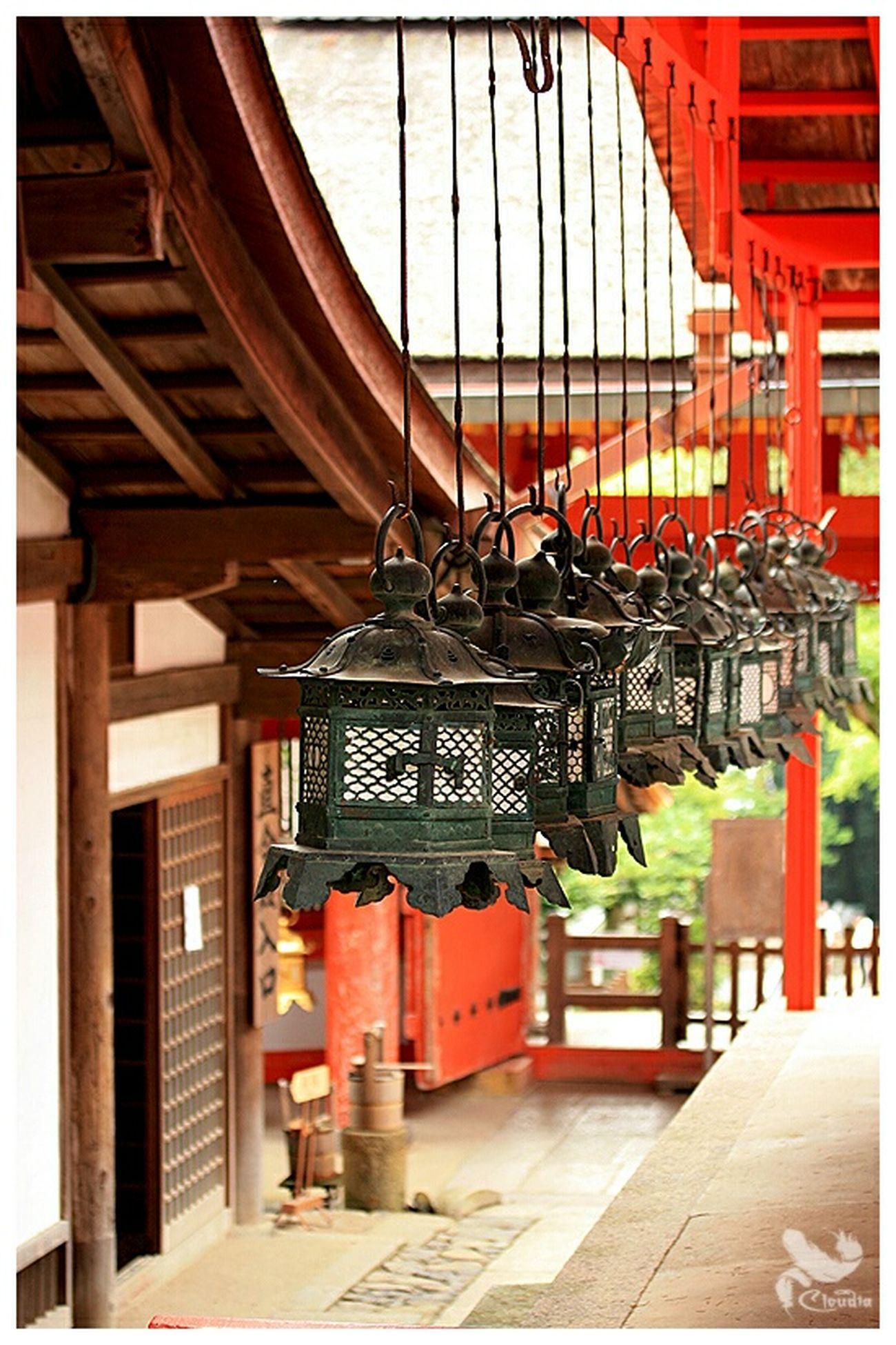 Kasuga Taisha Srine Japan Summer Traveling Nara,Japan Nara Shinto Shrine Red