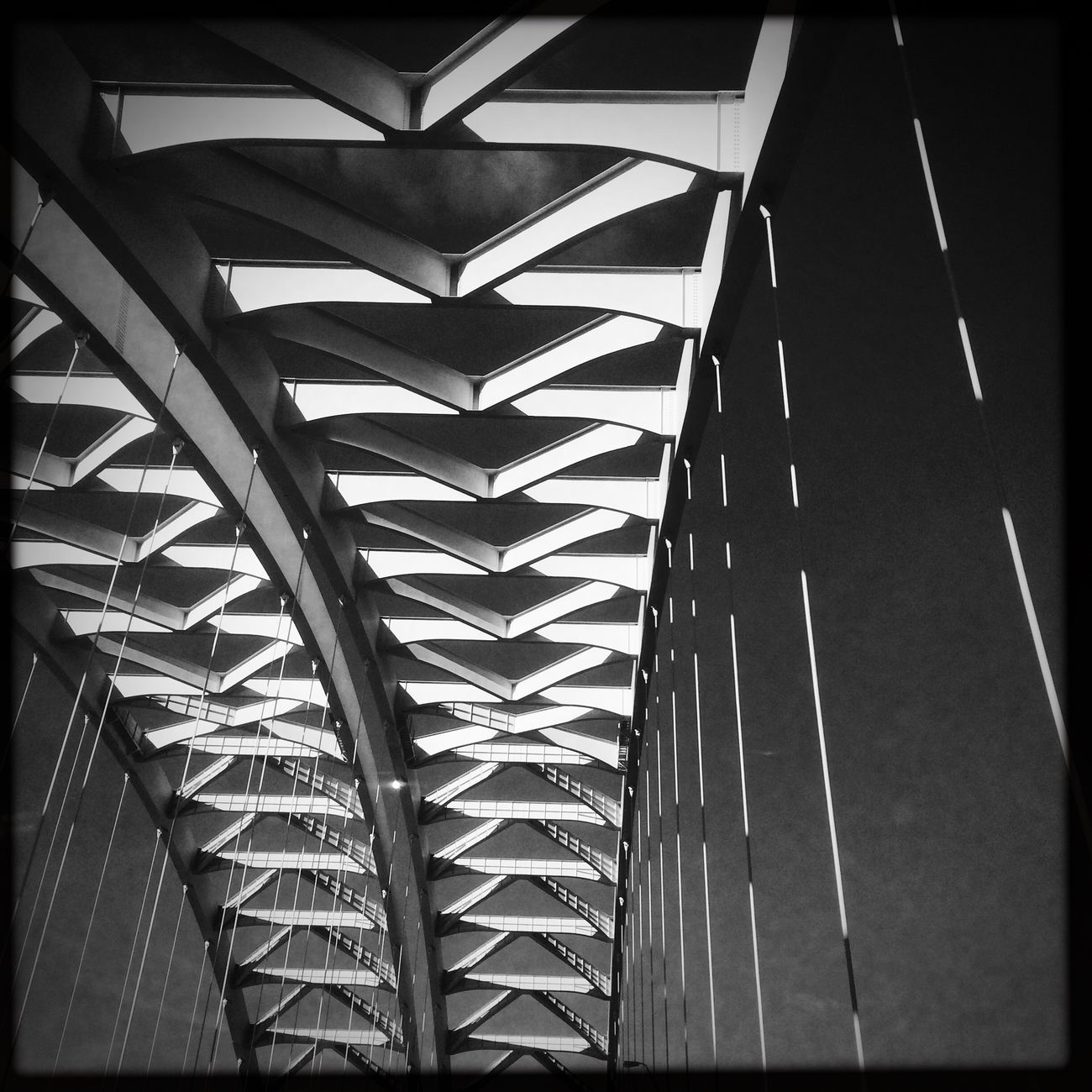 Bridge Abstract Blackandwhite Monochrome Hipstamatic IPhoneography