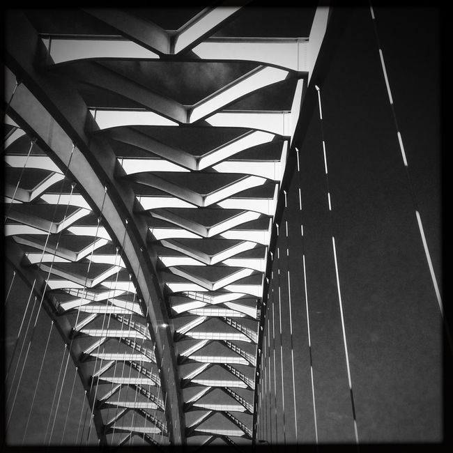 Bridge Abstract Blackandwhite Monochrome Hipstamatic IPhoneography