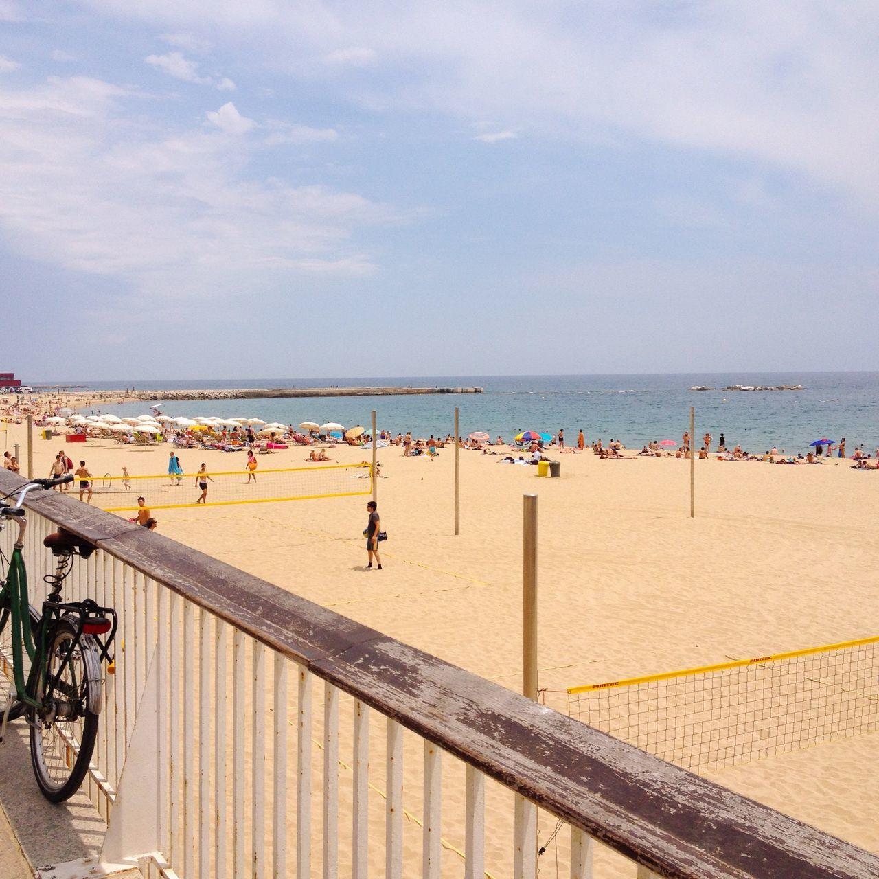 Beautiful stock photos of strand, , Beach, Beach Volleyball, Day