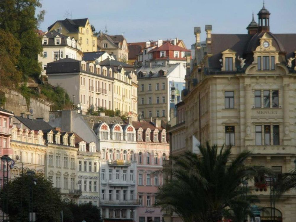 Spa town Karlovy Vary, Czech Republic Architecture Building Exterior Built Structure City City Life Culture Cyec Czech Façade Famous Place History Human Settlement International Landmark Karlovy Vary Old Town