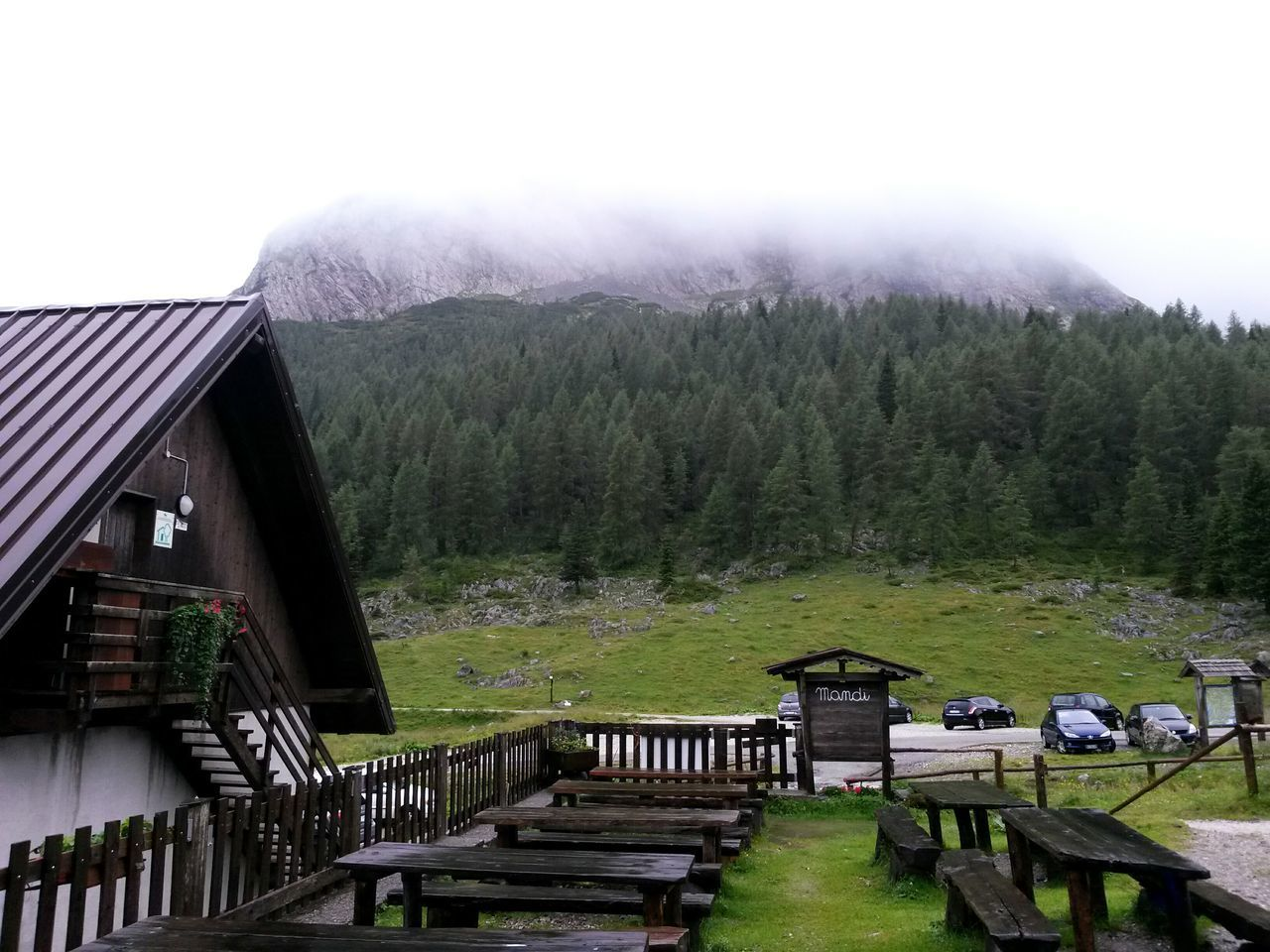 Mandi! Out of the world.. without telephone line, without internet in a Rainy Day at the Malga Mountains And Valleys Mountain View Friuli Venezia Giulia Mountain Shelter Outdoor Life Outdoors, Nature Mountains And Clouds Green Nature Casera Alps