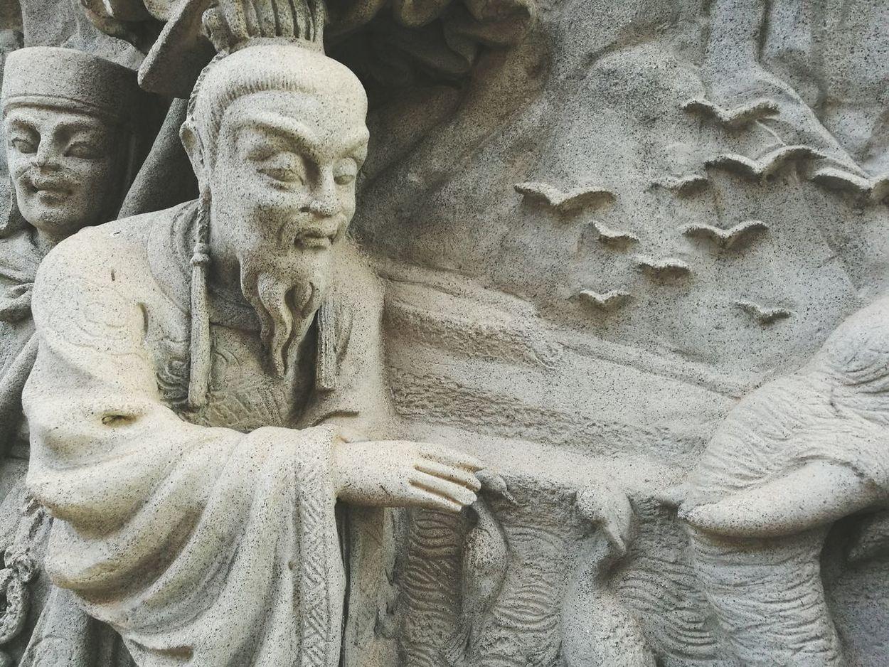 Legend Human Representation Statue Close-up Sculpture No People Day