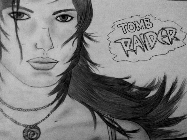 LM_colection Art Artistic Drawing Dibujo Tombraider Lara Croft Desenho Art Gallery My Drawing