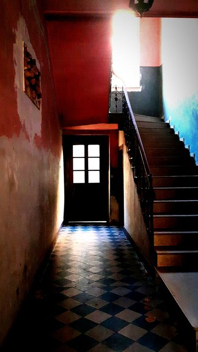 Staircase Indoors  Steps And Staircases Architecture Steps Built Structure No People Day Floor Interior Door Doorway The Week On EyeEm Aesthetics Cool Awesome Amazing Aesthetic Scenics Tumblr Tumblraesthetic Grunge Grunge Asthetics Light Light And Shadow