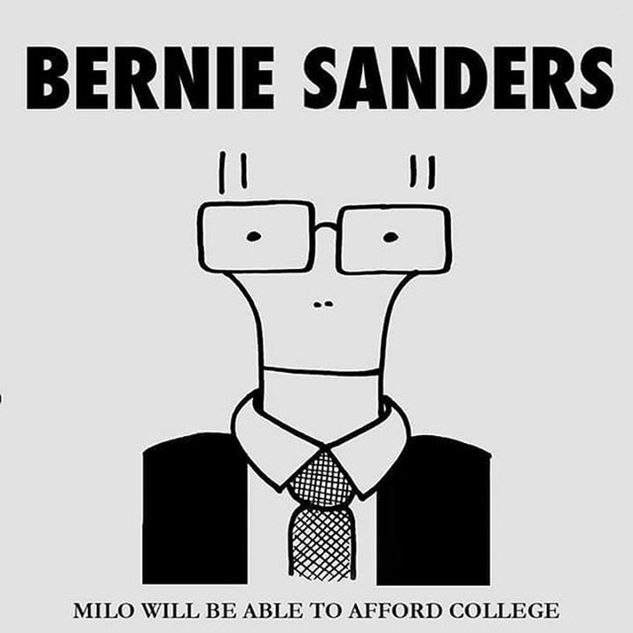 BernieSanders Descendents MiloGoesToCollege