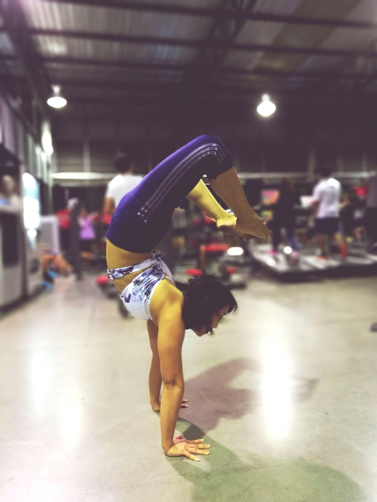 When everything seems so wrong, go yoga. Yoga Yogalife Yoga Lover Yogagirl Yogateacher Yogaeverywhere Yoga Pants Yogainspiration Messyhairdontcare Handstand  Upside Down Inversion Scorpion Handstandseverywhere