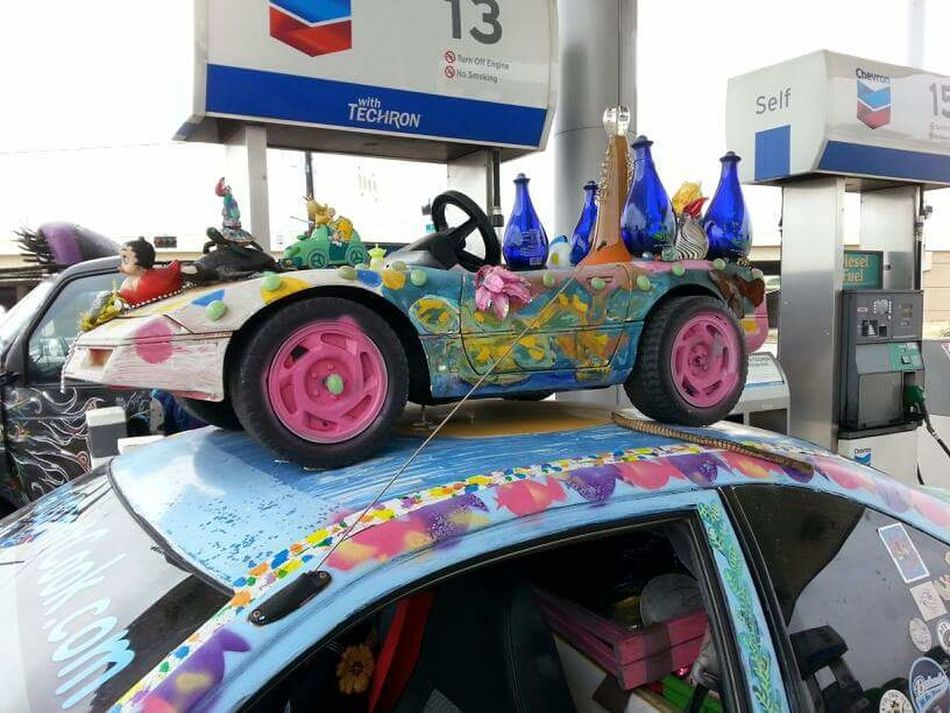 Art Cars Color Explosion Pushinglimits