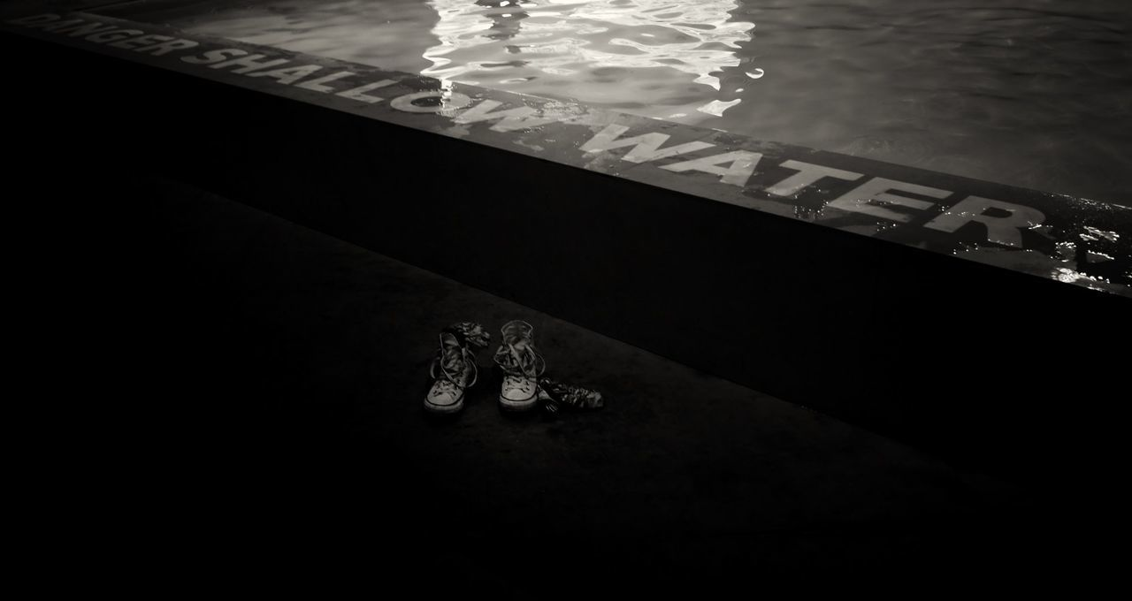 Australian pavilion la biennale architettura 2016 - Venice arsenale - danger shallow water High Angle View Water Footpath No People Tranquility Water Surface TakeoverContrast Contrast Of Shadows Arsenale Labiennale Architettura Shades Venice Venezia EyeEmBestPics EyeEm Gallery EyeEm Best Shots Danger Pool Shoes Wet Bw Bw_collection Drops Australia