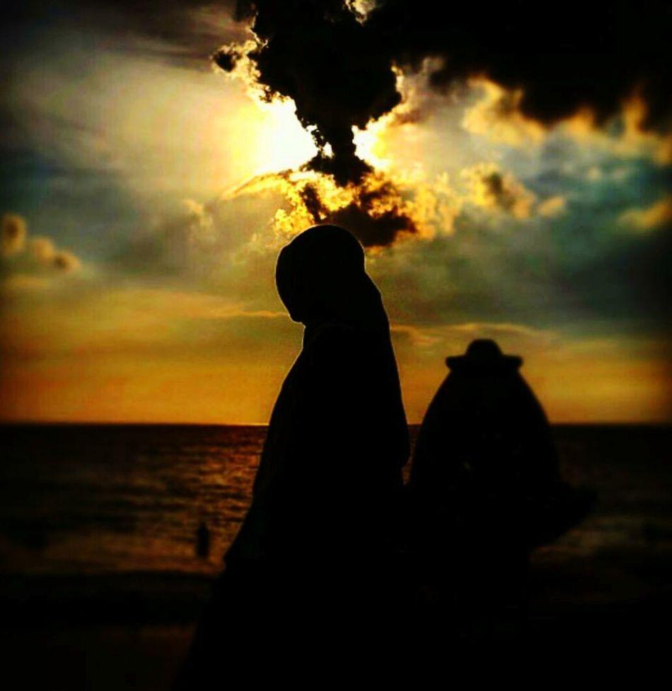 Sunset Silhouettes Beach Time Anyerbeach MarbellaHotel FLS2N