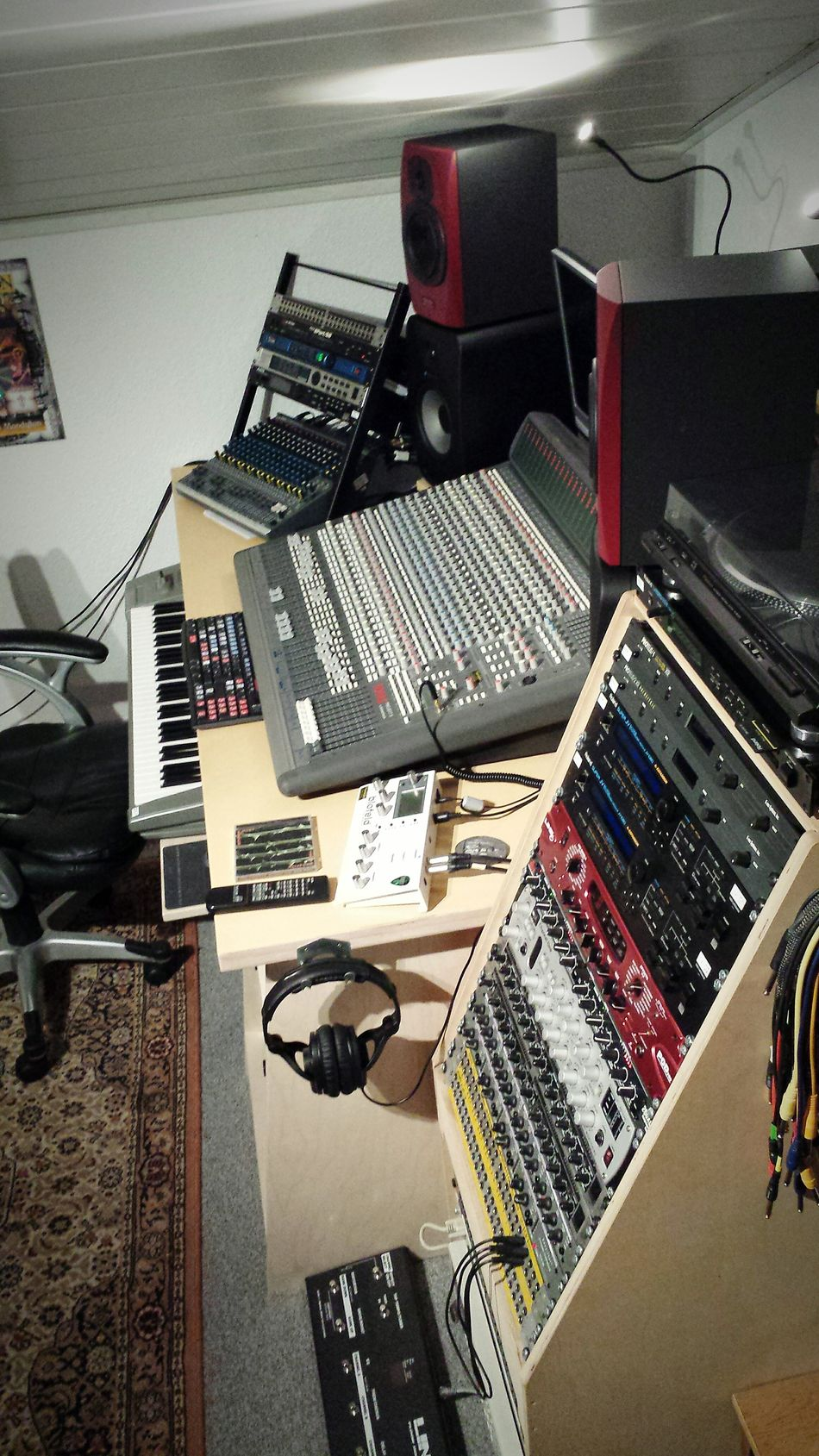 Tonstudio Musicstudio Mandylion Audio Mixer Mixer Tannoy Soundtracs Topaz8 Korgtrinity Gothicrock Www.mandylion.de