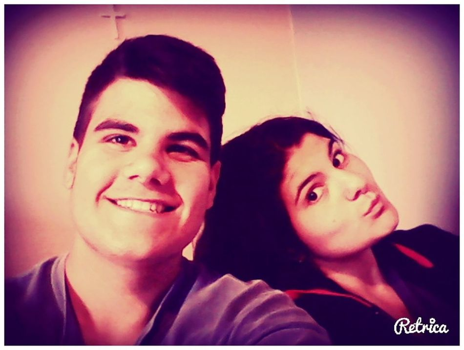 Just Me!! With My Sista Retrica we enjoy our life with very much smile!!!!!!!