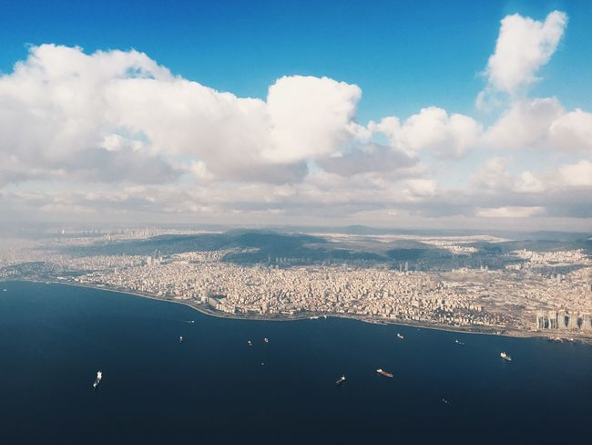 Flying over Istanbul Aereal Photo Aereal Shot Aereal View Airplane EyeEm EyeEm Best Shots EyeEm Nature Lover Flying Istanbul Landing Landscape Nature Plane View Sky Travel Traveller Travelling Travelling Photography Turkey Turkey Land