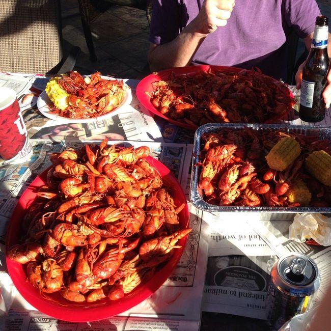 Superbowl Sunday! Crawfish