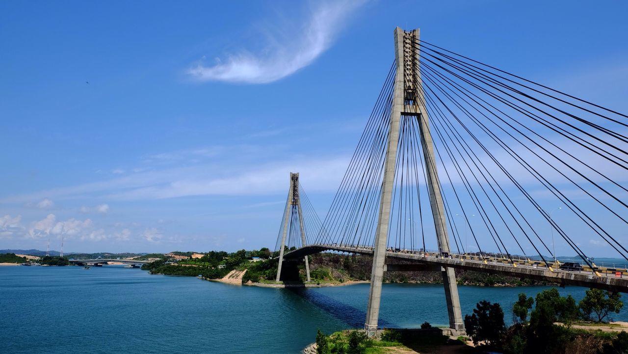 Barelang Bridge, batam island Hello World Bridge Landscape Seascape